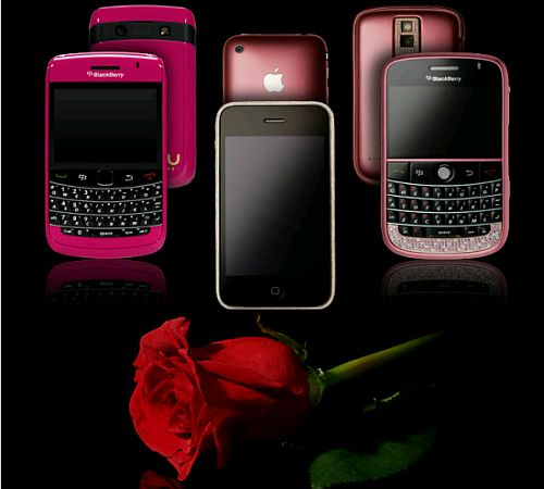 BlackBerry in Pink 2011