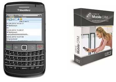 cobra mobile crm app ab sofort f r den blackberry. Black Bedroom Furniture Sets. Home Design Ideas