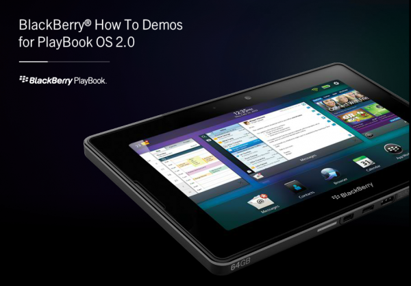 Interaktive howtos zum blackberry playbook os 2 0 mobilityadmin de